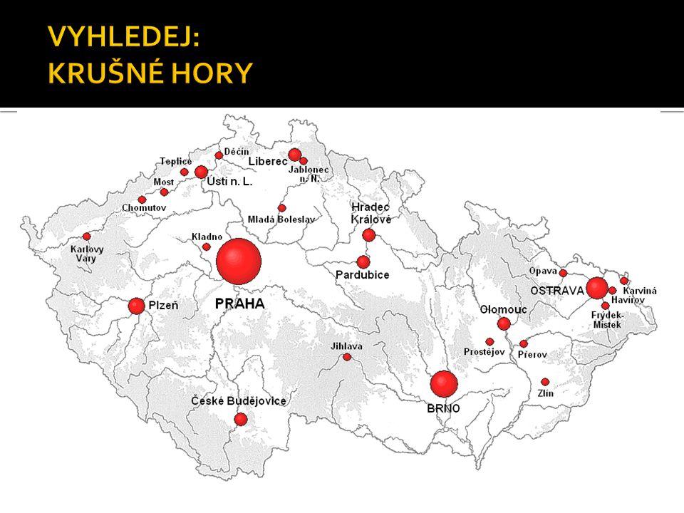  Šumava je rozsáhlé pohoří na hranicích Česka, Rakouska a německého Bavorska.
