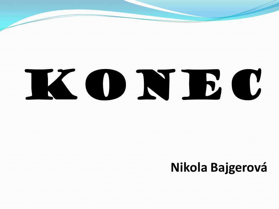 Konec Nikola Bajgerová