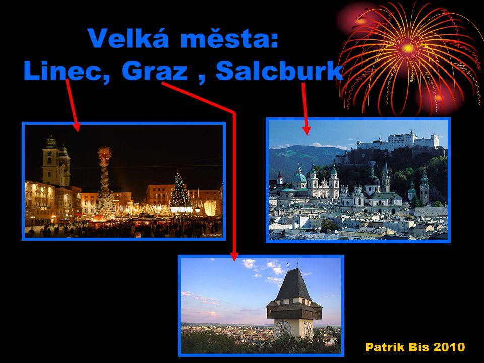 Velká města: Linec, Graz, Salcburk Patrik Bis 2010