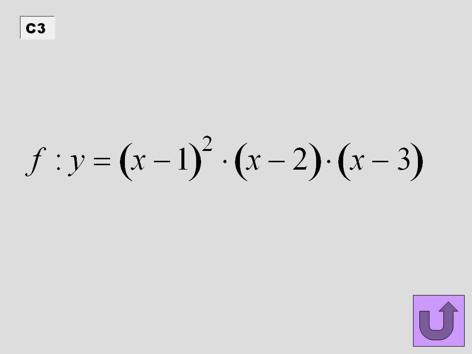 - graf funkce f má s osou x společné tři body - funkce f je zdola ohraničená