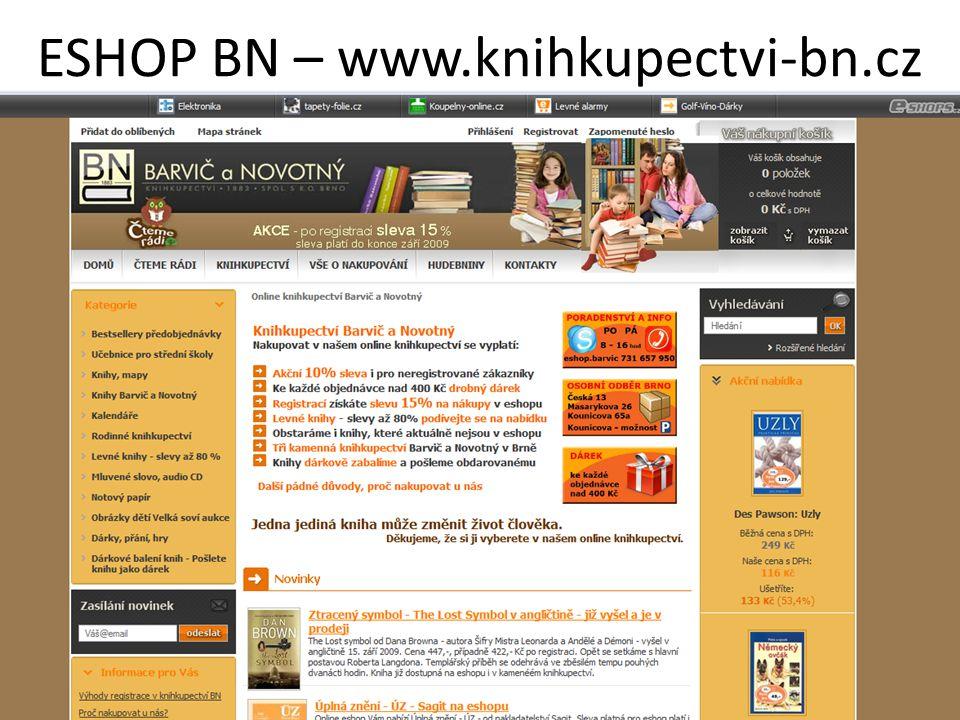 ESHOP BN – www.knihkupectvi-bn.cz