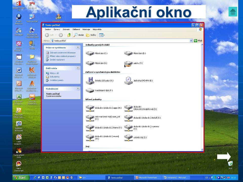 Aplikační okno
