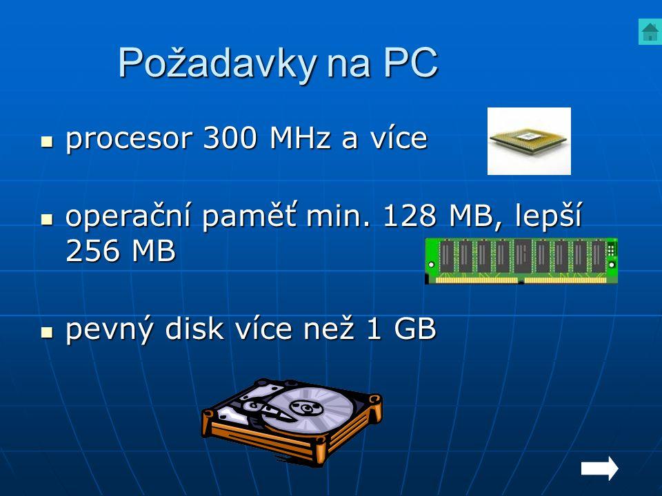 Dvojklik myší na ikonu aplikace nebo 1 krát Lt a ENTER Spuštění aplikací – ikona na ploše zpět