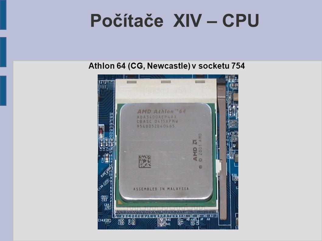 Počítače XIV – CPU Athlon 64 (CG, Newcastle) v socketu 754