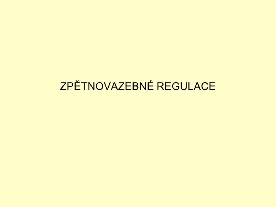 ZPĚTNOVAZEBNÉ REGULACE