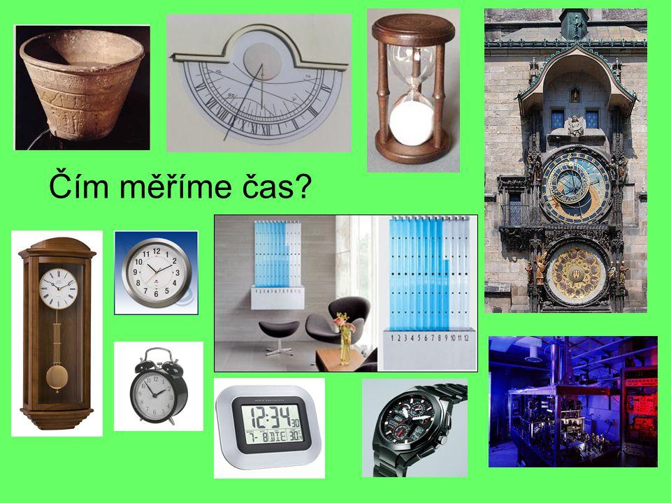 Čím měříme čas?