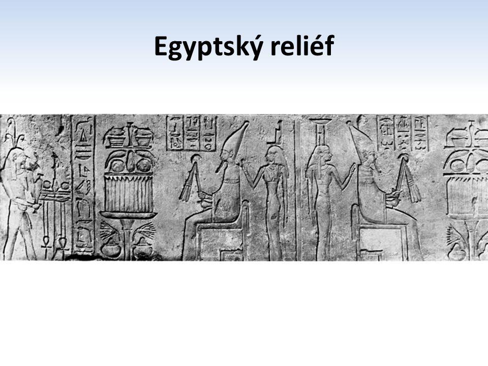 Egyptský reliéf