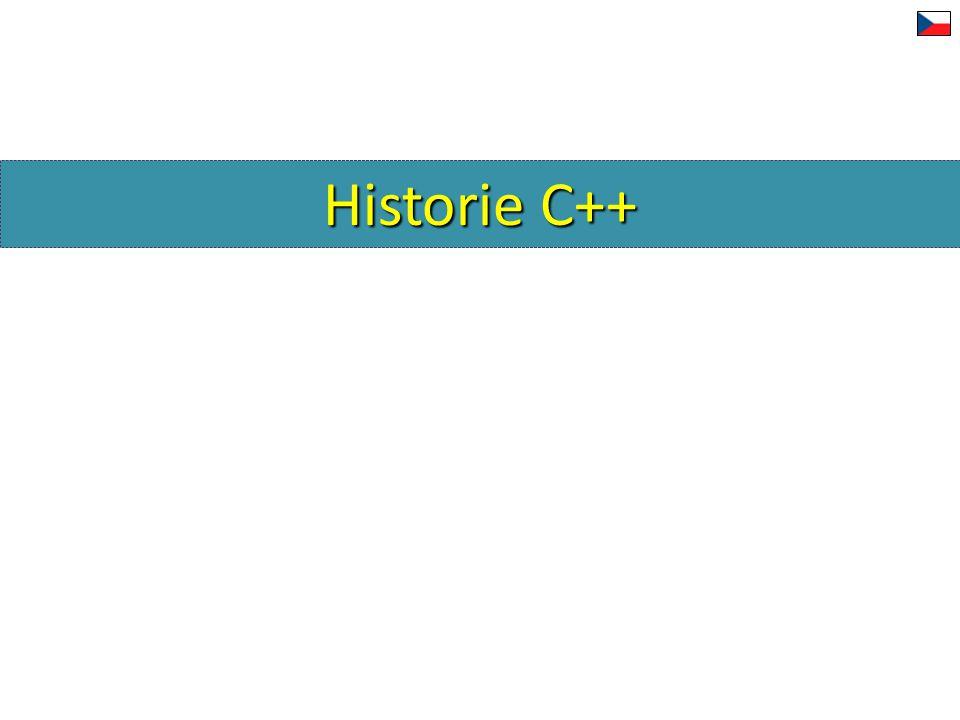 Historie C++