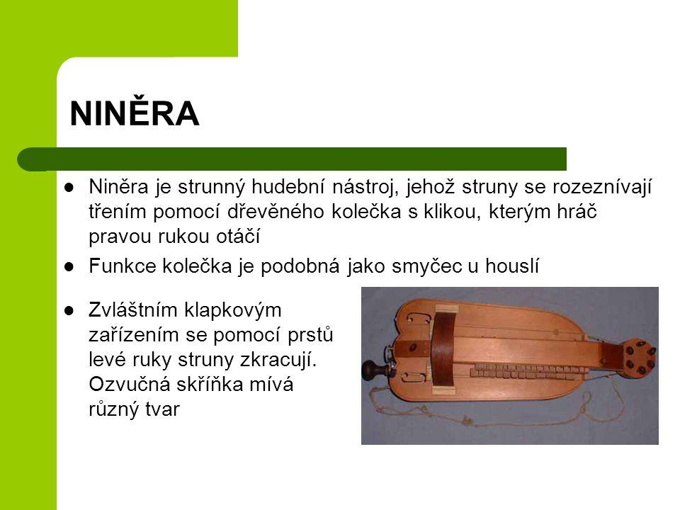 Smyčcové nástroje Struny se rozechvívají většinou smyčcem.