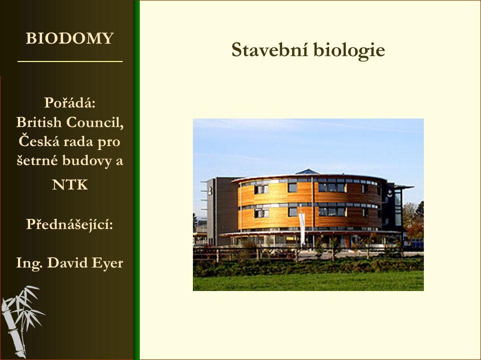 věda o celostních vztazích mezi člověkem, jeho obydlím a okolím 25 pravidel Stavební biologie Používejte přírodní materiály (bavlněné záclony, palubky, korkové podlahy, přírodní linoleum, parkety.