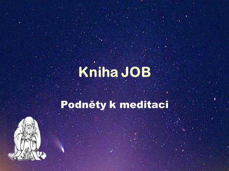 Kniha JOB Podněty k meditaci
