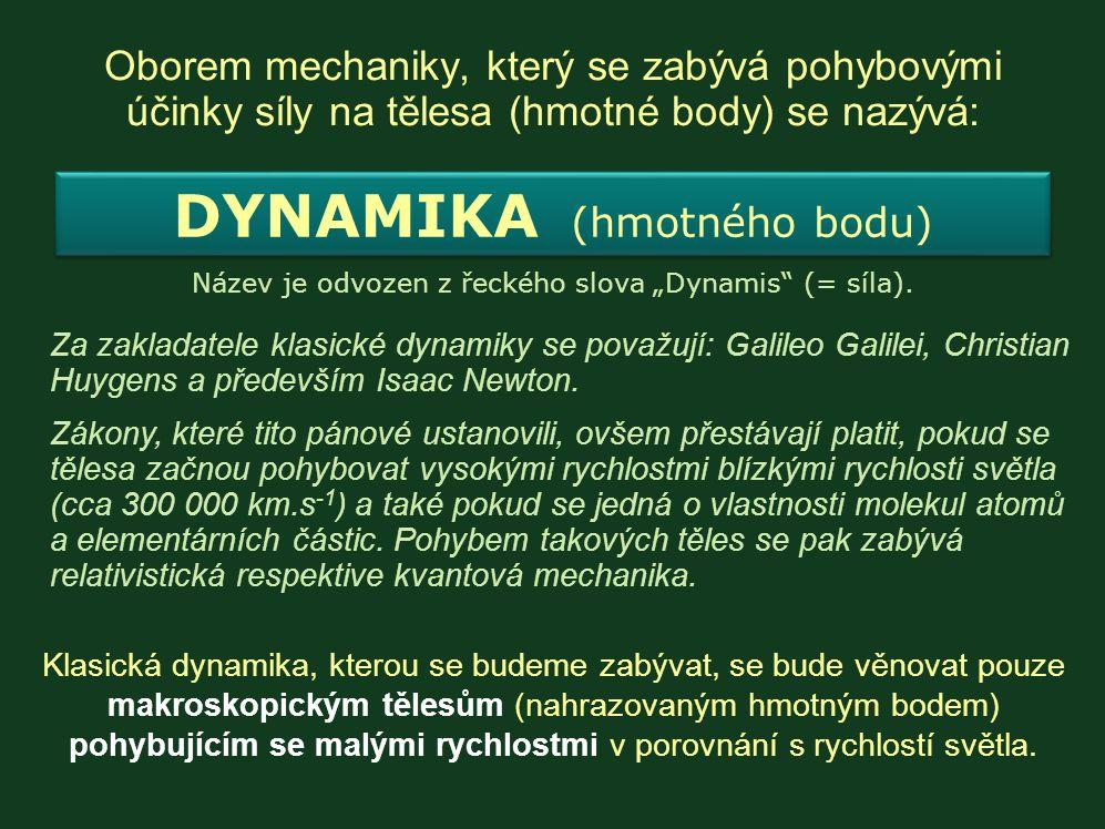 """Název je odvozen z řeckého slova """"Dynamis (= síla)."""