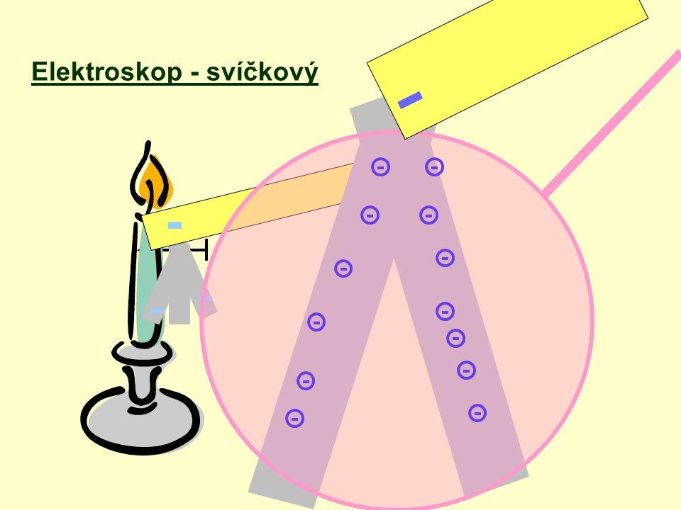 Elektroskop - svíčkový - - - -