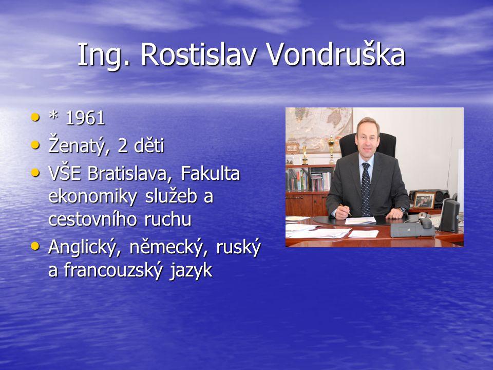 Ing. Rostislav Vondruška Ing.
