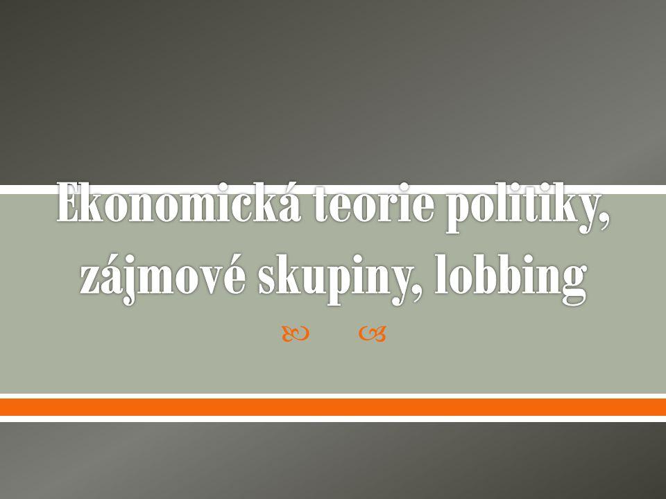  Politik musí zkoumat preference svého voličstva s ohledem na jeho postoje ke zdanění a programům veřejných výdajů.