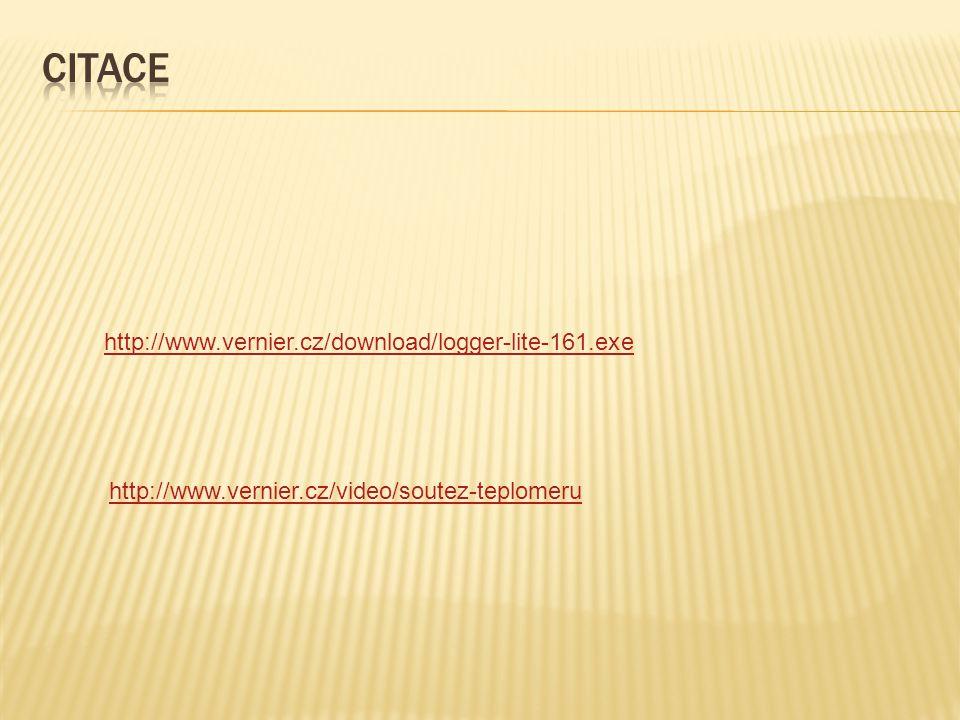 http://www.vernier.cz/download/logger-lite-161.exe http://www.vernier.cz/video/soutez-teplomeru