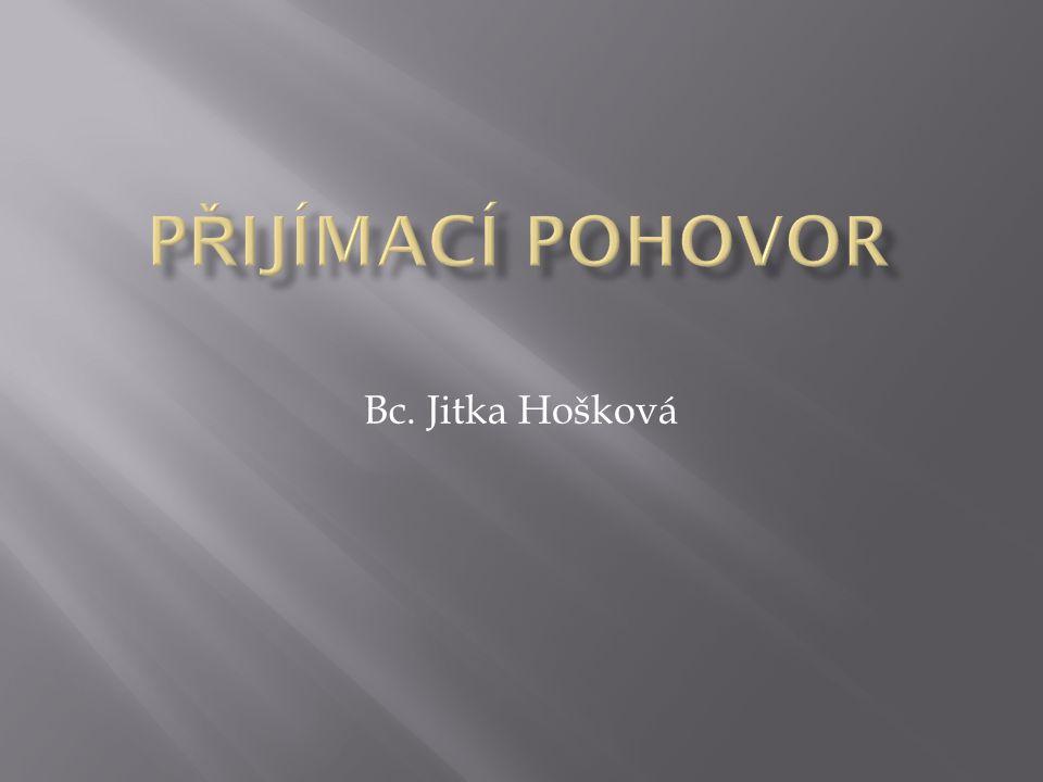 Bc. Jitka Hošková