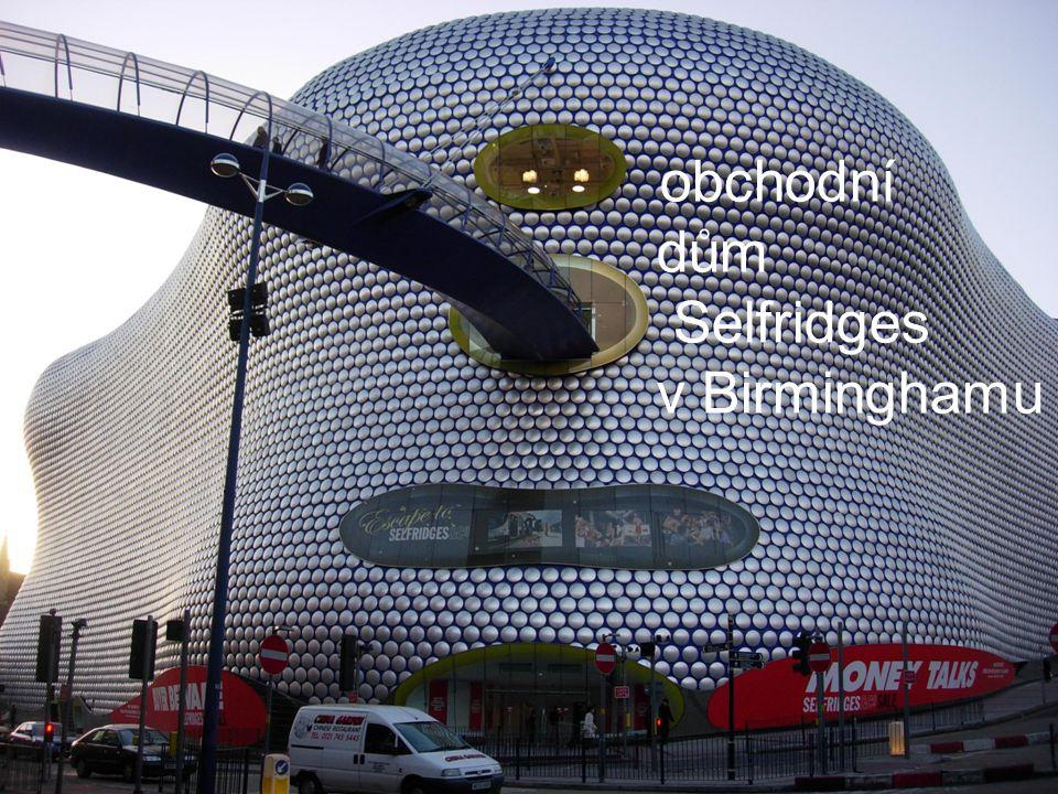 obchodní dům Selfridges v Birminghamu
