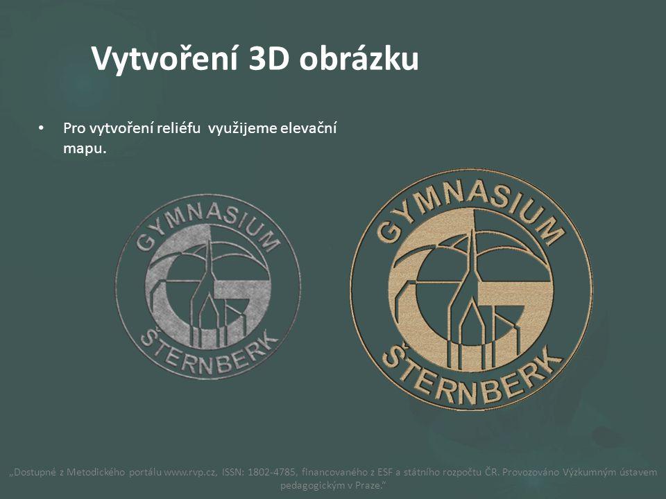 Jako příklad použijeme logo Gymnázia Šternberk.