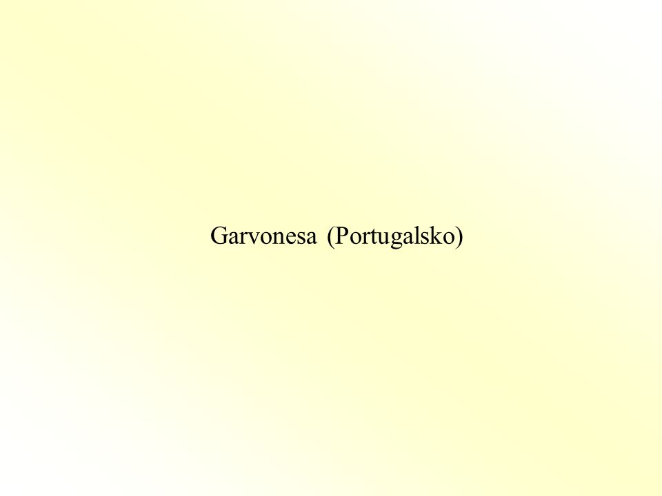 Garvonesa (Portugalsko)