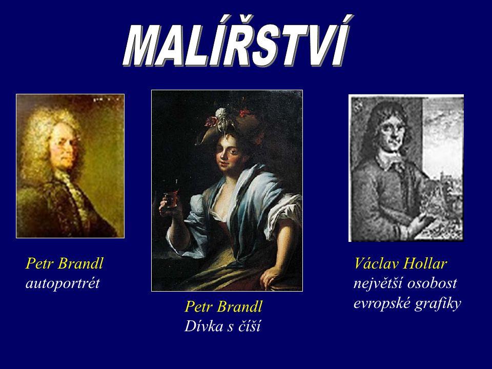 Petr Brandl autoportrét Petr Brandl Dívka s číší Václav Hollar největší osobost evropské grafiky