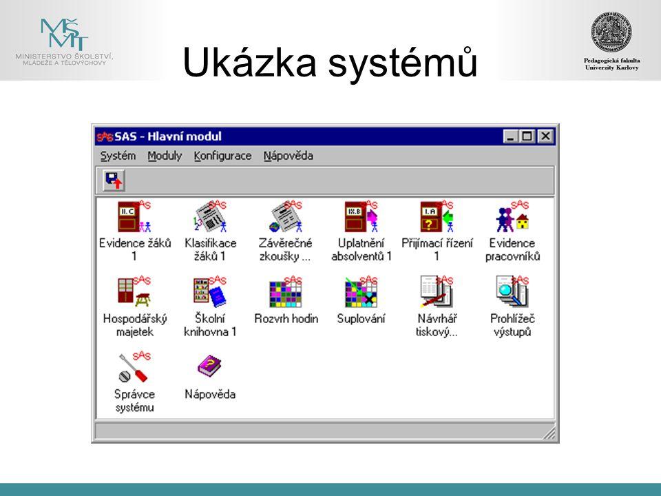 Ukázka systémů