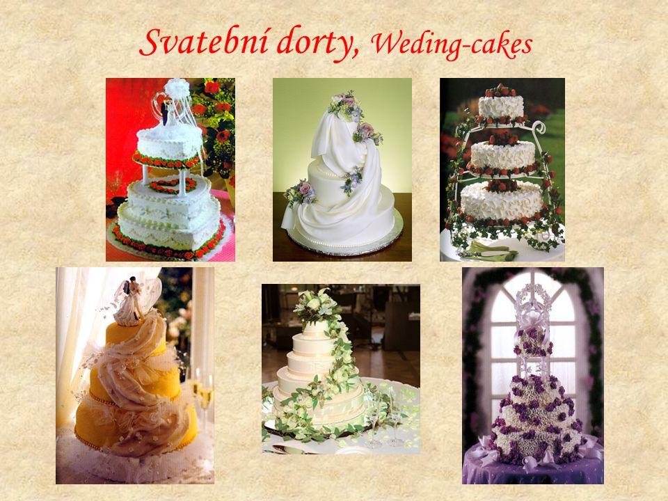 Svatební dorty, Weding-cakes