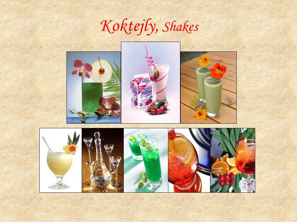 Koktejly, Shakes