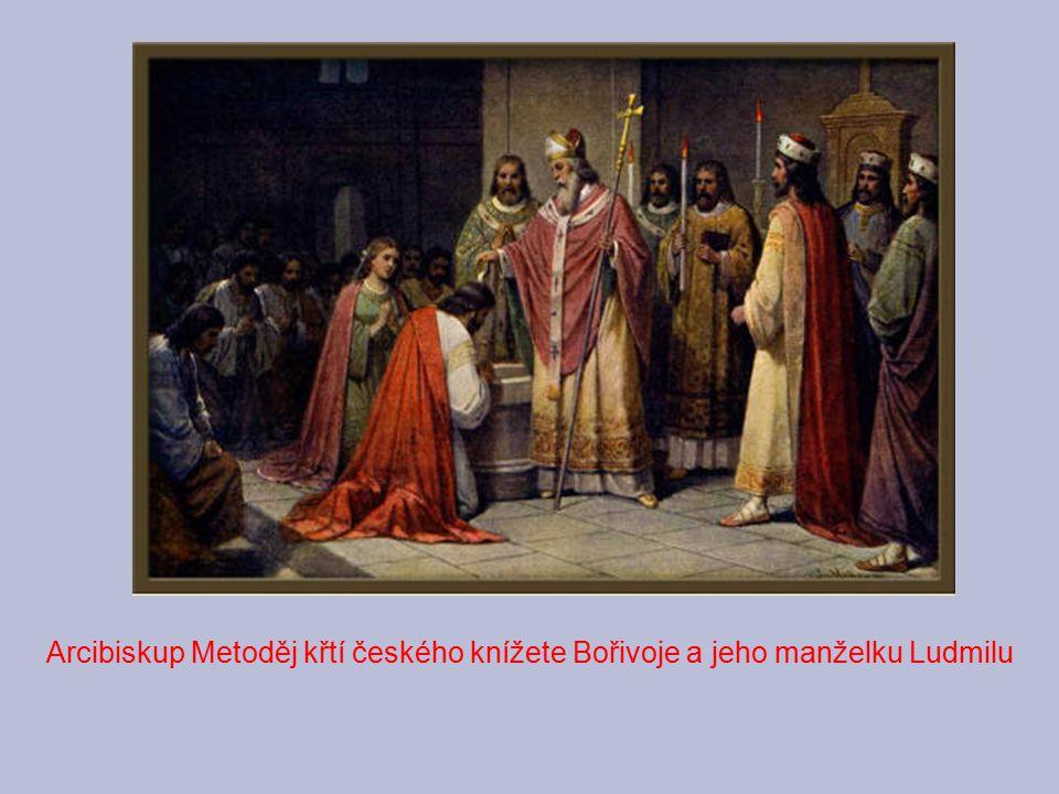 Svatopluk - svrhl svého strýce Rastislava, vydal ho Frankům(R.