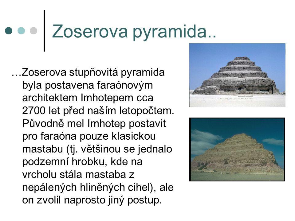 Zoserova pyramida..