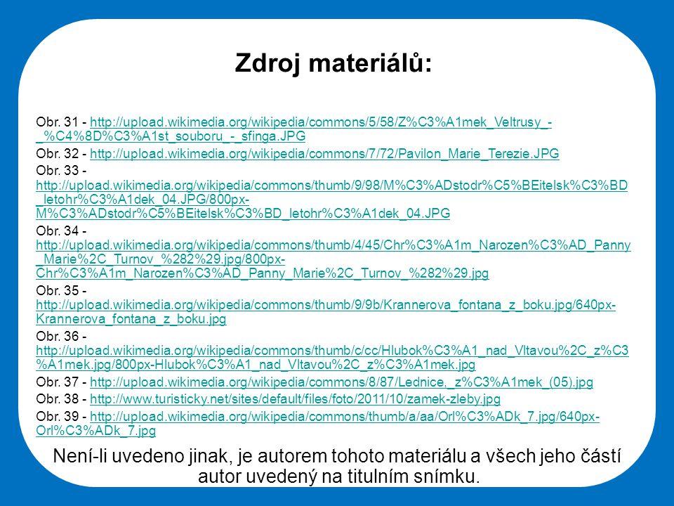 Střední škola Oselce Zdroj materiálů: Obr.