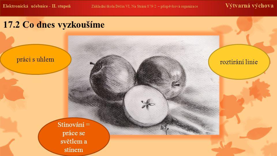 Elektronická učebnice -II. stupeň Základní škola Děčín VI, Na Stráni 879/2 – příspěvková organizace Výtvarná výchova 17.2 Co dnes vyzkoušíme Elektroni