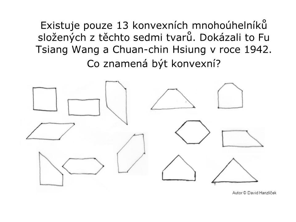 Existuje pouze 13 konvexních mnohoúhelníků složených z těchto sedmi tvarů. Dokázali to Fu Tsiang Wang a Chuan-chin Hsiung v roce 1942. Co znamená být