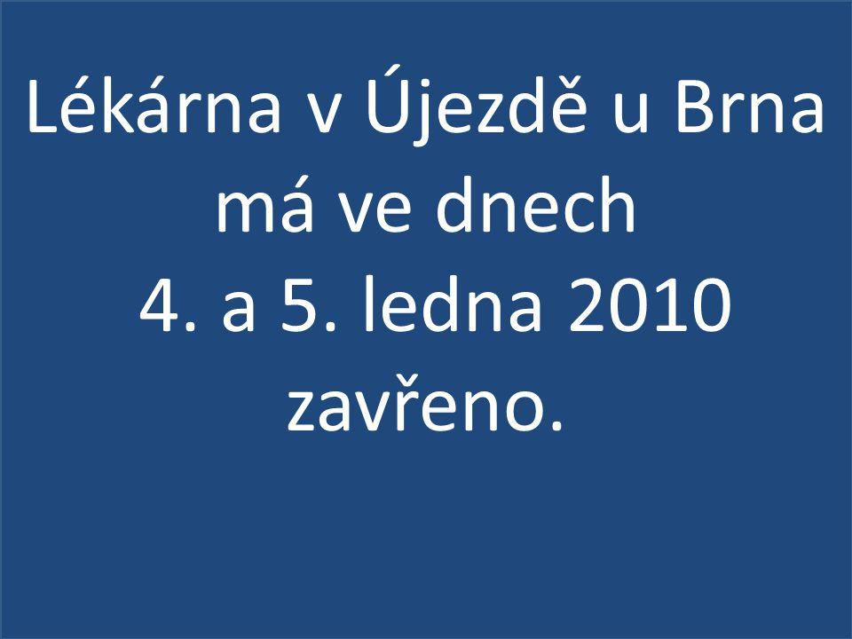 Zemědělský podnik Dolní Dunajovice bude dne v pátek 8.
