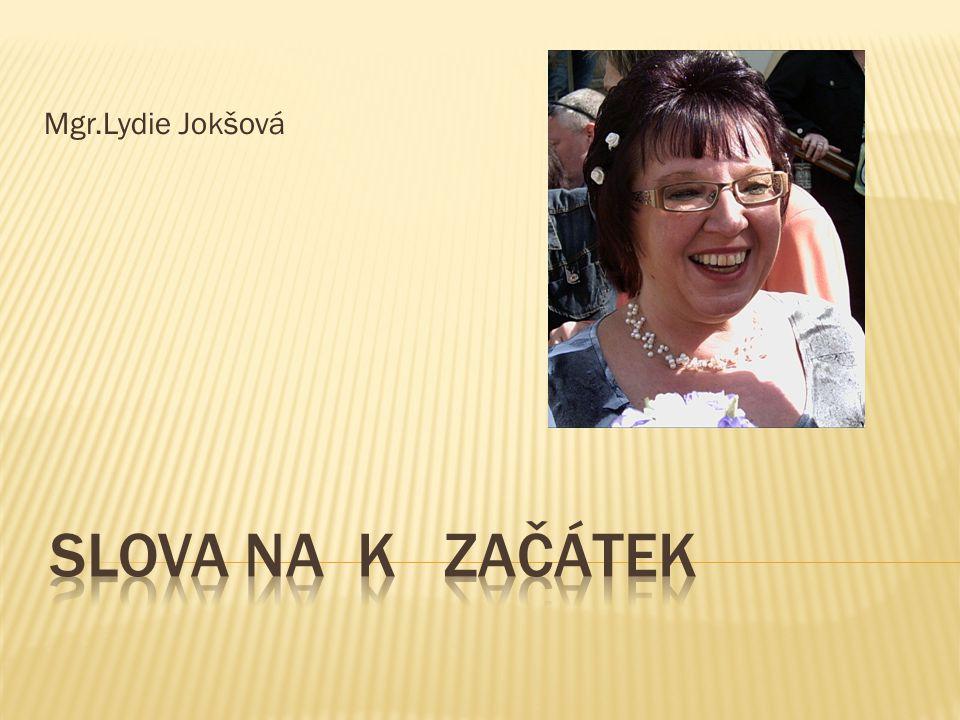 Mgr.Lydie Jokšová