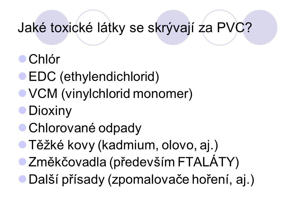 Jaké toxické látky se skrývají za PVC.