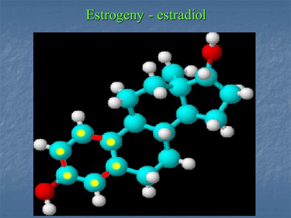 Estrogeny - estradiol