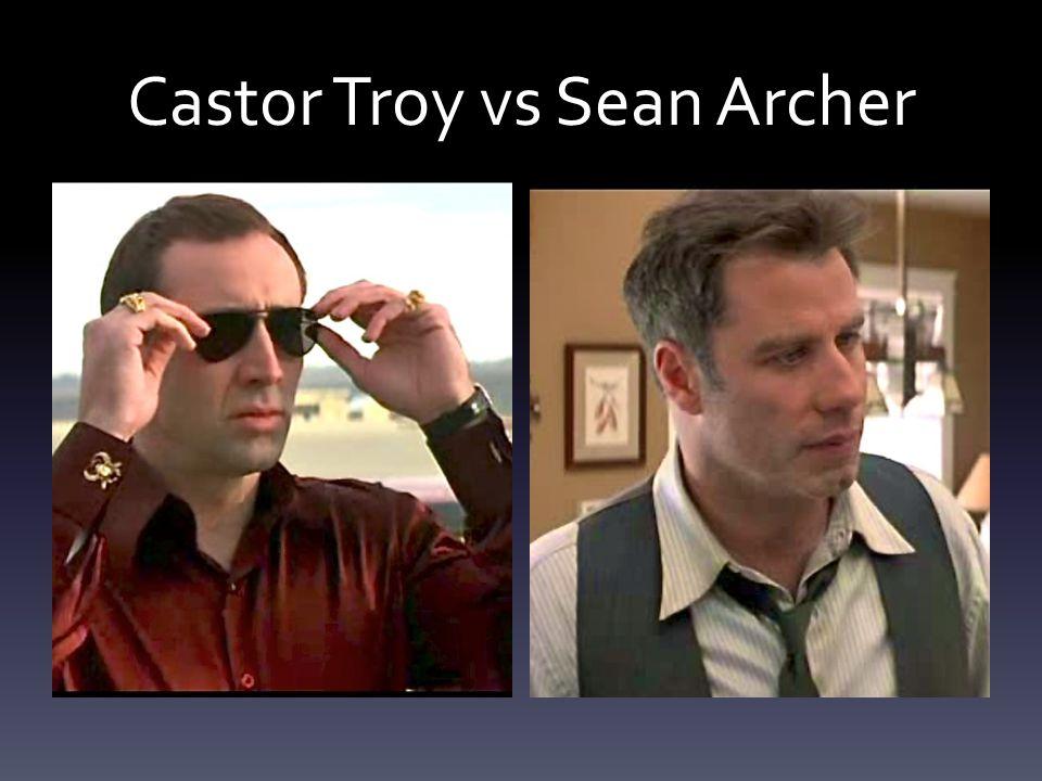Castor Troy vs Sean Archer