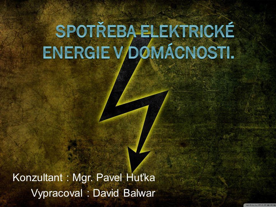 Osnova:  1.tabulka spotřebičů  2. grafy spotřeby elektrické energie  3.