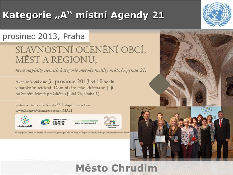 """Kategorie """"A místní Agendy 21 prosinec 2013, Praha Město Chrudim"""