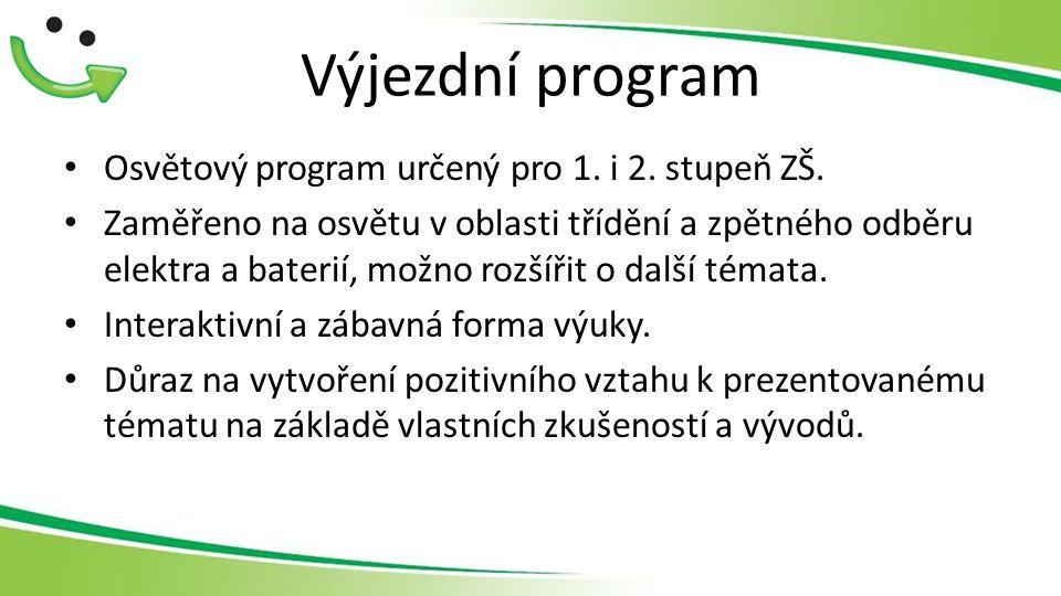 Výjezdní program Osvětový program určený pro 1.i 2.