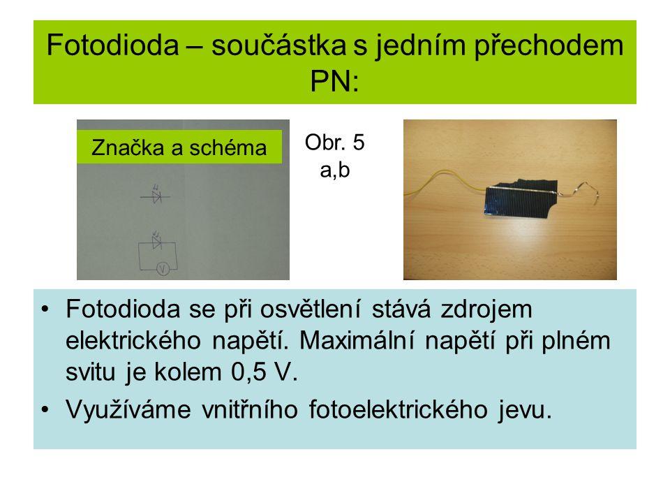 Fotovoltaický ( sluneční) článek: Založen na přímé přeměně energie slunečního záření na energii elektrickou.