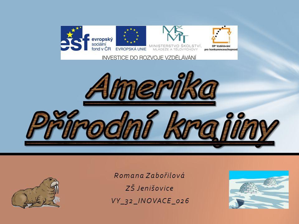 Romana Zabořilová ZŠ Jenišovice VY_32_INOVACE_026