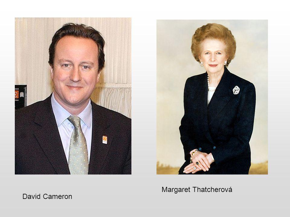 Margaret Thatcherová David Cameron