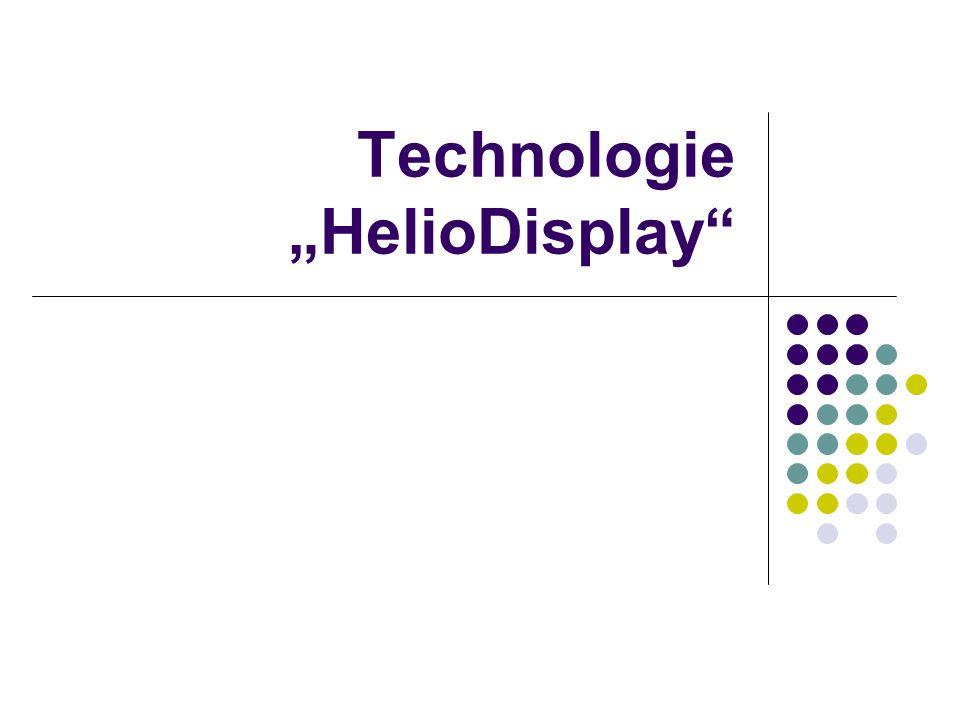"Technologie ""HelioDisplay"""