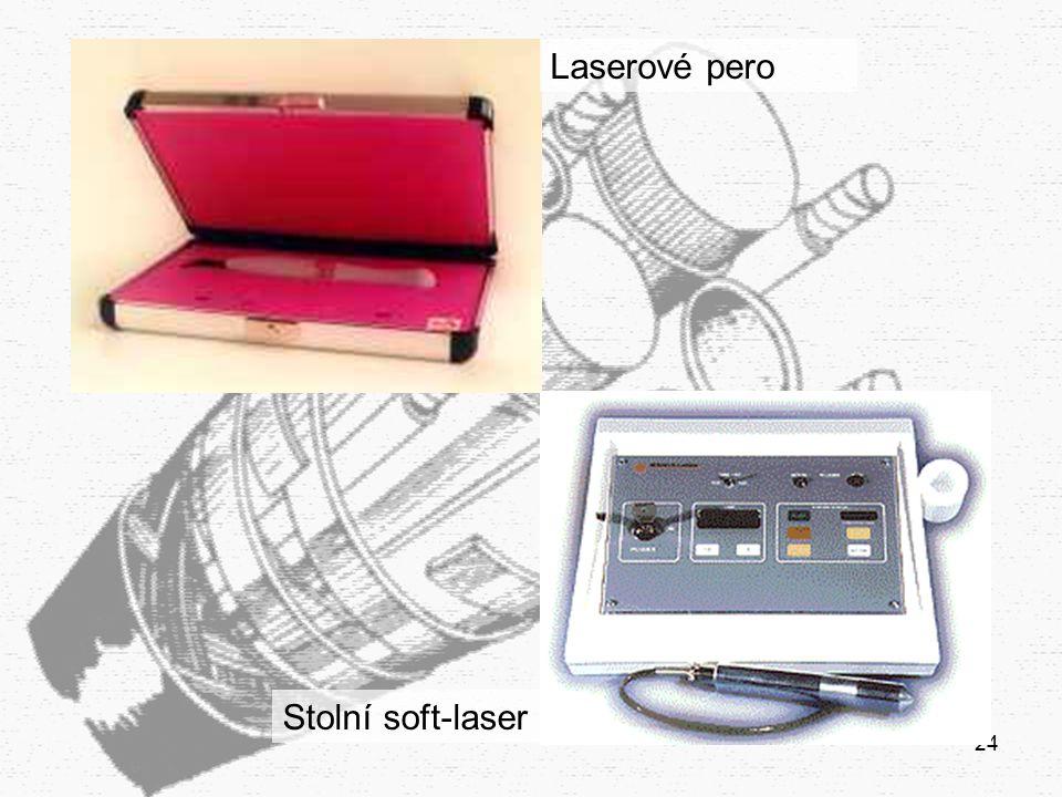 24 Laserové pero Stolní soft-laser