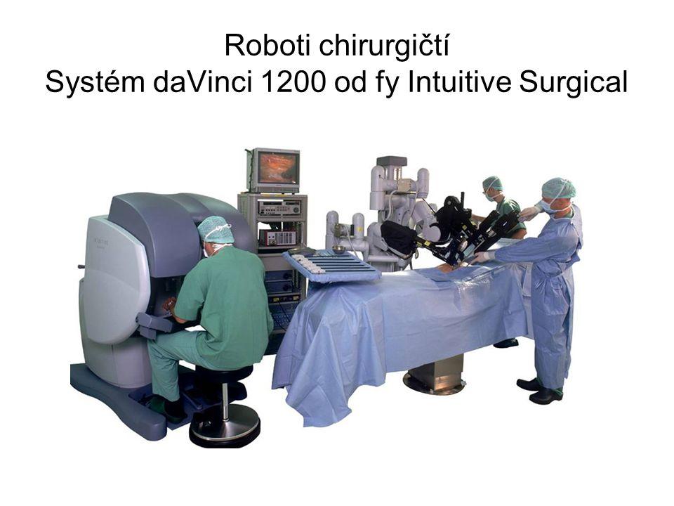 Roboti chirurgičtí Systém daVinci 1200 od fy Intuitive Surgical