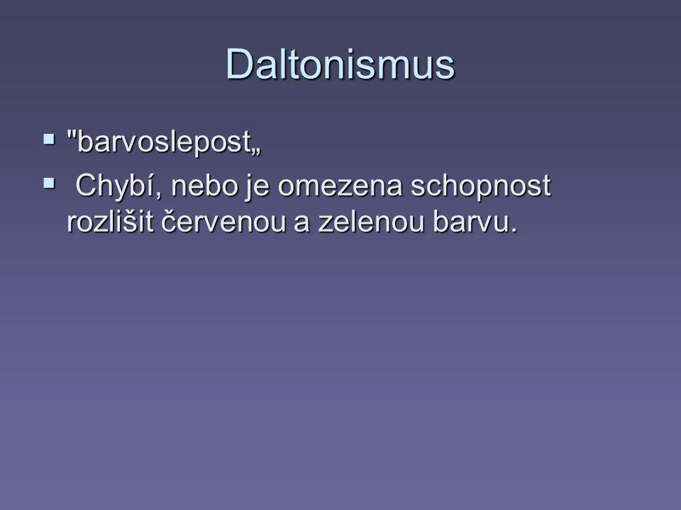 Daltonismus 