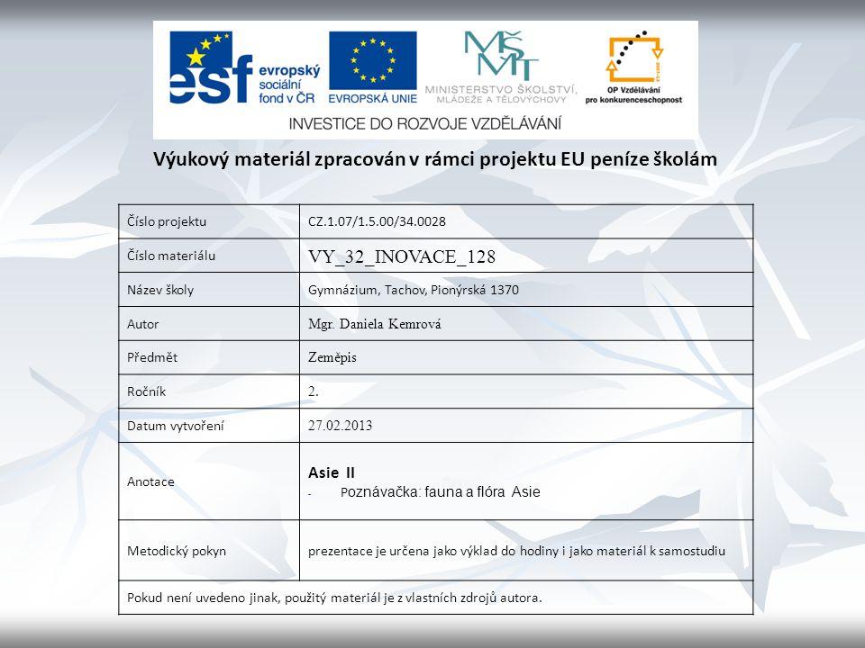 Číslo projektuCZ.1.07/1.5.00/34.0028 Číslo materiálu VY_32_INOVACE_128 Název školyGymnázium, Tachov, Pionýrská 1370 Autor Mgr.