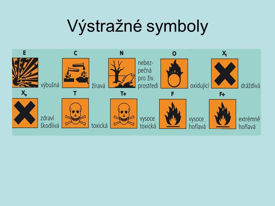 Výstražné symboly